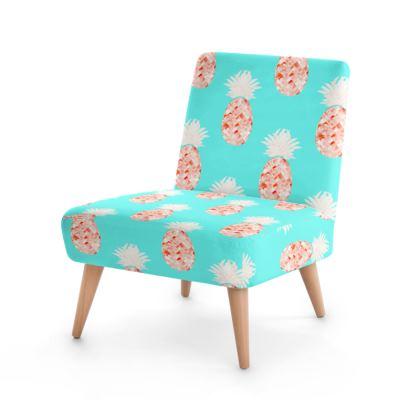 Hala Kahiki Champagne Occasional Chair