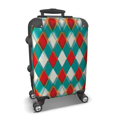 Suitcase 3Diamonds Pattern