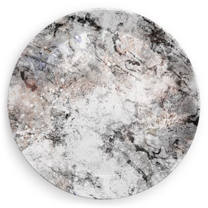 Party Plates - marble rocks