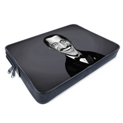 Sammy Davis Jnr Celebrity Caricature Laptop Bags