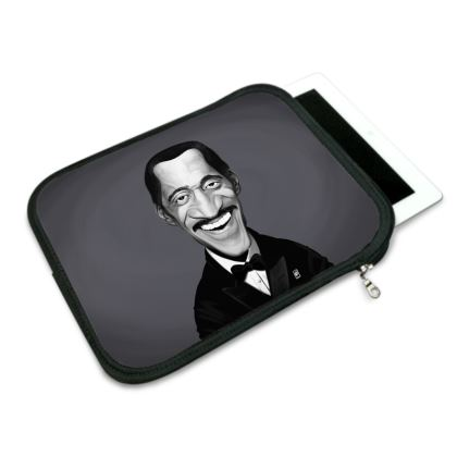 Sammy Davis Jnr Celebrity Caricature iPad Slip Case