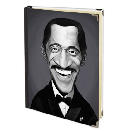Sammy Davis Jnr Celebrity Caricature Journals