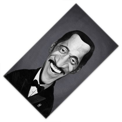 Sammy Davis Jnr Celebrity Caricature Towels