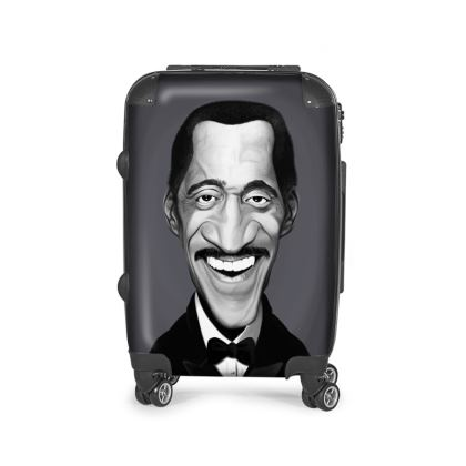 Sammy Davis Jnr Celebrity Caricature Suitcase