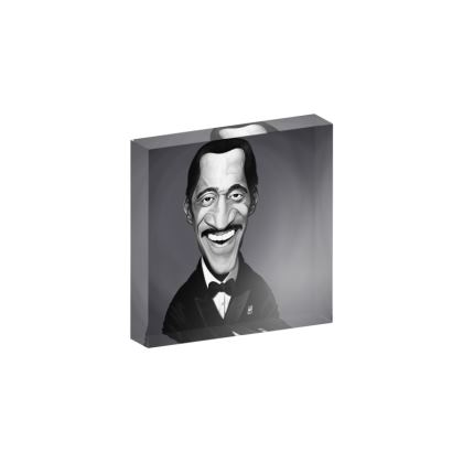 Sammy Davis Jnr Celebrity Caricature Acrylic Photo Blocks