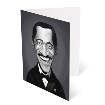 Sammy Davis Jnr Celebrity Caricature Occasions Cards