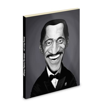 Sammy Davis Jnr Celebrity Caricature Pocket Note Book