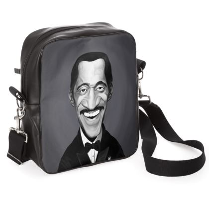 Sammy Davis Jnr Celebrity Caricature Shoulder Bag
