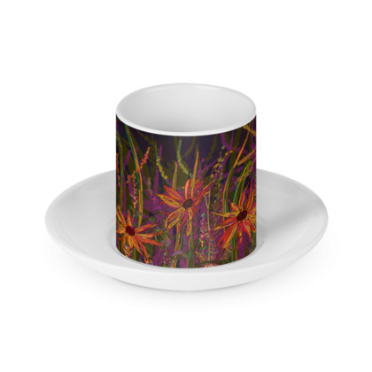 Autumn Flowers Cup