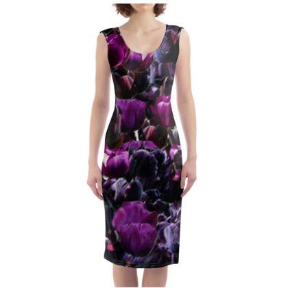 Tulip Printed Dress
