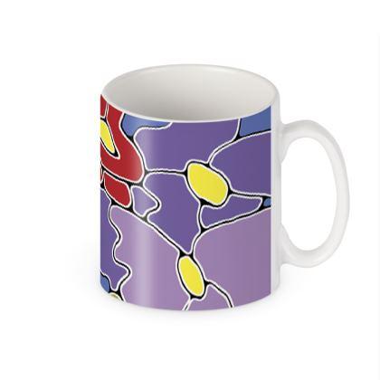 Springtime Blue Ceramic Mug