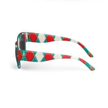 Sunglasses 3Diamonds Pattern