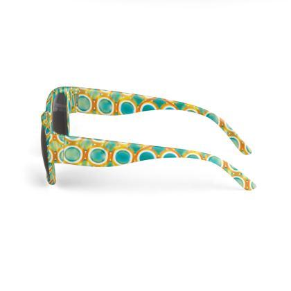 Sunglasses Kitsch Bubbles Pattern