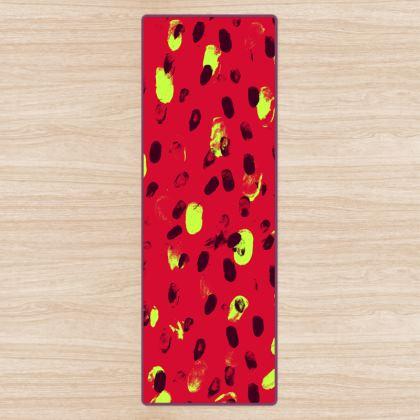 Yoga Mat - Strawberries