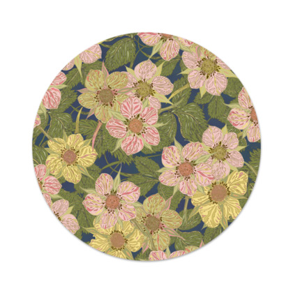 Strawberry Flowers (Dark) Serving Platter