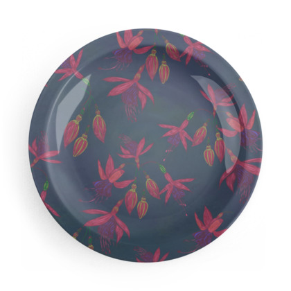 Fabulously Fuchsias Party Plates