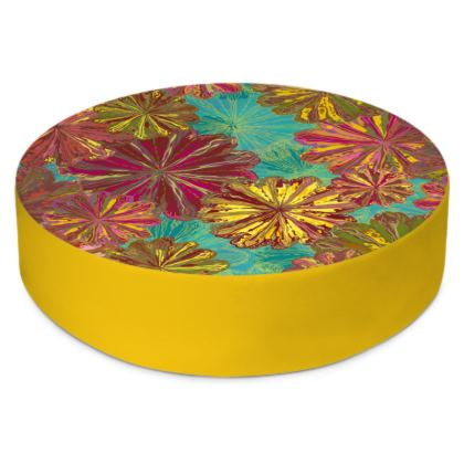 Poppytops Round Floor Cushion