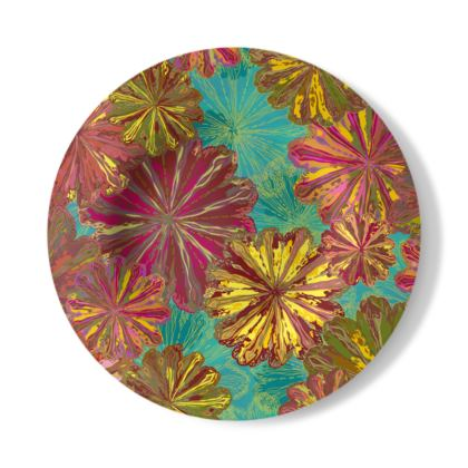 Poppytops Decorative Plate