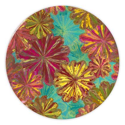 Poppytops China Plate