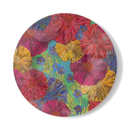 The Parting of the Poppies Decorative Plate