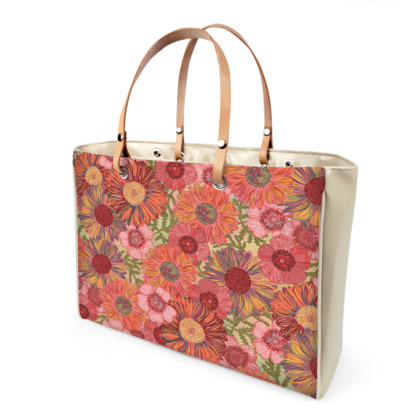 A Daisy Day (Summer Pink) Handbag