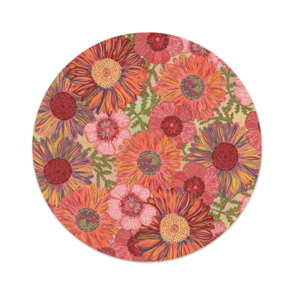 A Daisy Day (Summer Pink) Serving Platter