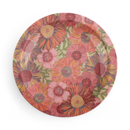 A Daisy Day Party Plates