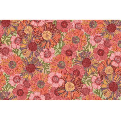 A Daisy Day (Summer Pink) Fabric Placemat