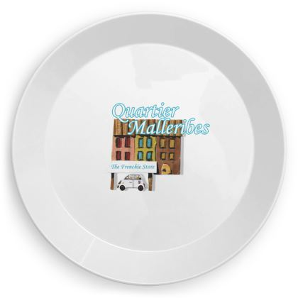 """Party Plate """"Quartier Malleribes"""""""