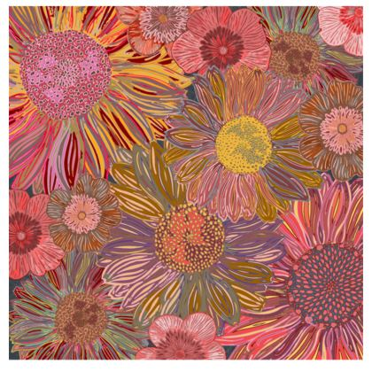Daisy Dance Fabric Placemat