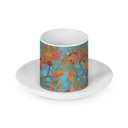Fantasy Fall Flowers Cup