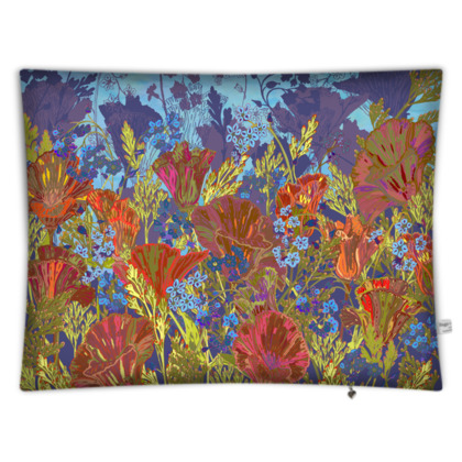 Remembering (Poppies) Floor Cushion