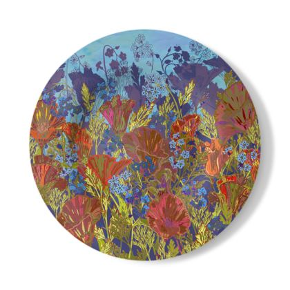 Remembering (Poppies) Decorative Plate