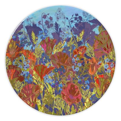 Remembering (Poppies) China Plate