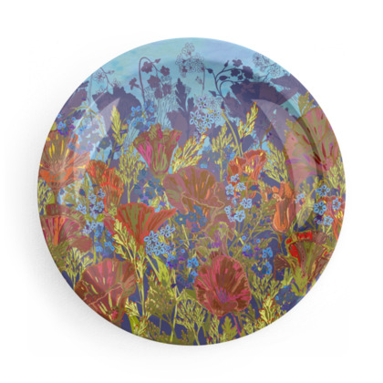 Remembering (Poppies) Party Plate Set