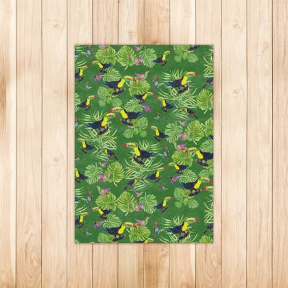 toucan jungle Rugs