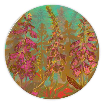 Fun with Foxgloves China Plate