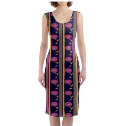 Floral stripes Dress