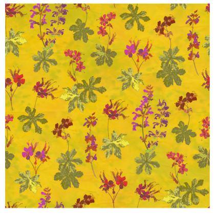 Summer Geranium Pattern Handbag