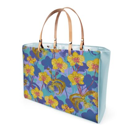 Tropical Orchids Handbag