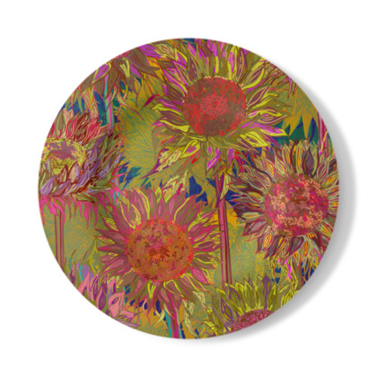 Sunflowers Decorative Plate