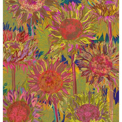 Sunflowers Fabric Placemat