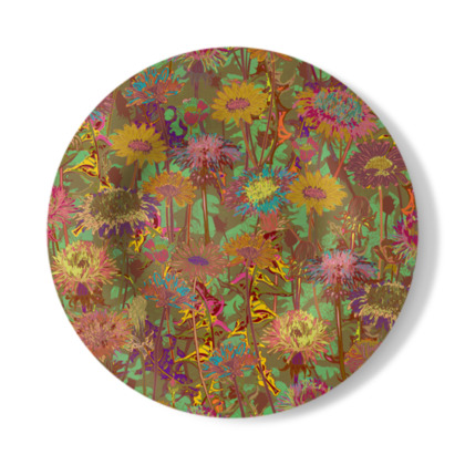 Dandelion Dawn Decorative Plate