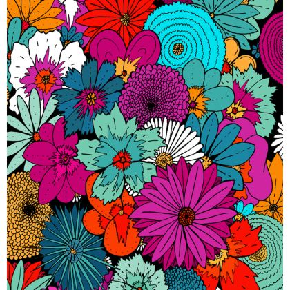 Espadrilles - A bunch of flowers