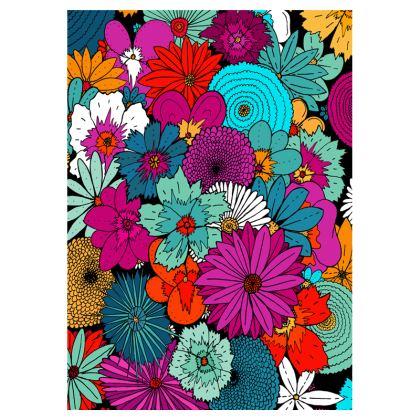 Flip Flops - A bunch of flowers