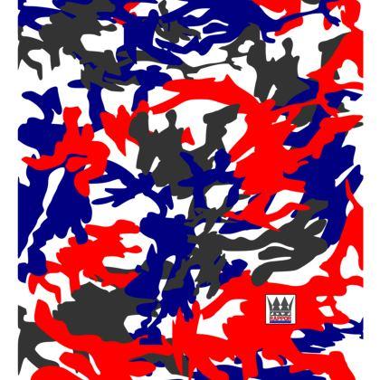 Designer Camo Festival Bag