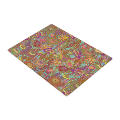 Morning Walk Glass Chopping Board