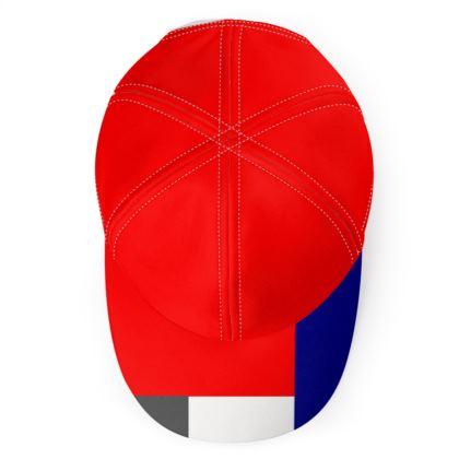 Designer Quad Colour Baseball Cap