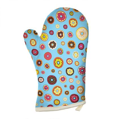 Donuts Oven Glove