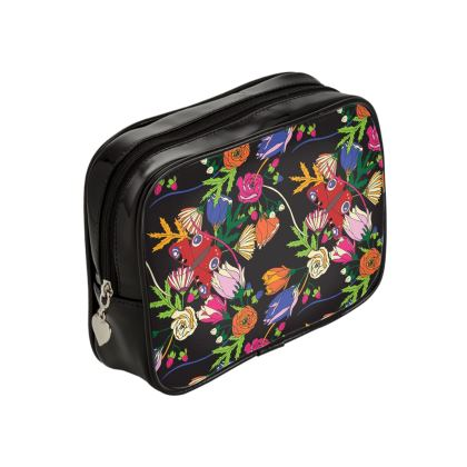 Peacock Butterfly Make Up Bag